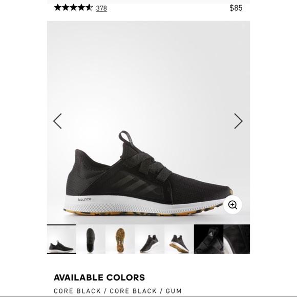 adidas Shoes - Adidas Bounce Edge Lux Black 7 GUC a0b7b3d2e
